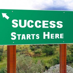 This is Your Freeway Sign To Freedom and Salutation that Success Starts Here
